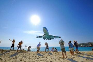 Walexcursie Sint Maarten: vervoer van en naar Maho Beach