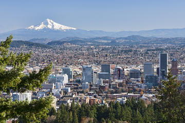 Day Trip Portland Sightseeing Tour Including Columbia Gorge Waterfalls near Portland, Oregon