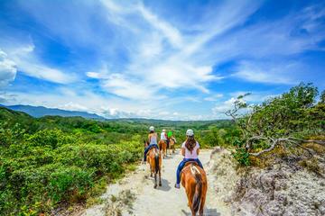 Vida Aventura Park in Guanacaste - Ziplining-Tour, Reiten und heiße...