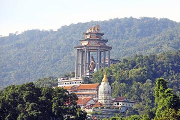 Visite privée: colline de Penang et temple Kek Lok Si
