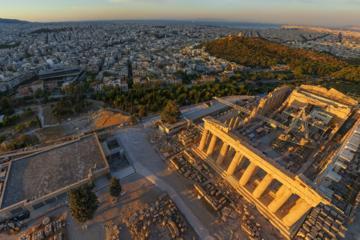 Evite as filas: excursão a pé pela Acrópole de Atenas à tarde