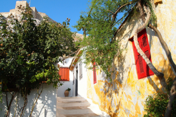 Excursão a pé por Hidden Atenas e piquenique: Plaka e para as colinas...