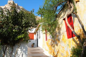 Tour a piedi dell'Atene nascosta e pic-nic: Plaka e le colline di