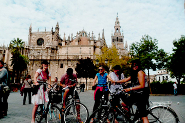 Tour durch Sevilla mit dem E-Bike