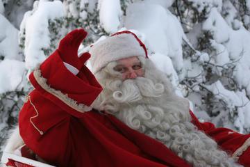 Santa Claus Snowmobile Safari