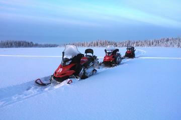 Snowmobile Safari to Arctic Snow Hotel