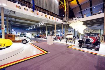 Brussels Autoworld Museum Entrance...