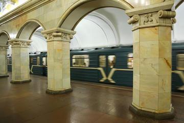 Excursão ao metrô de Moscou