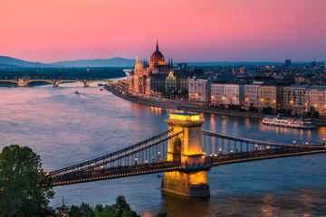 Donau-Flussfahrt in Budapest...