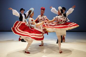 Hongaarse folklorevoorstelling in Boedapest