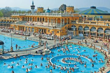 Privat indgang til Széchenyi Spa i Budapest med valgfri massage