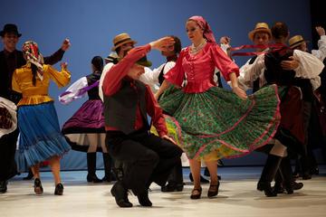 Show de folclore em Budapeste e...