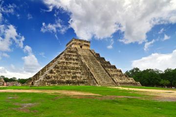 Cancún-Kombi-Angebot: Chichén Itzá Tour und Isla Mujeres mit...