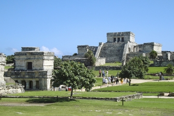 Circuit éco-aventure des ruines de Tulum et du parc de Tankah