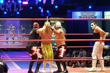 Lucha Libre Tacos and cantina tour
