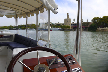 Excursão a pé e cruzeiro fluvial por Sevilha