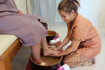 2 horas de masaje tailandés de pies y...
