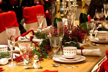 Christmas Eve dinner in Seville