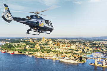 Quebec City, Its River and Its Landscape Helicopter Tour