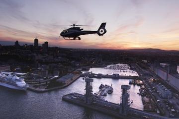 Visita en helicóptero por la ciudad de Quebec
