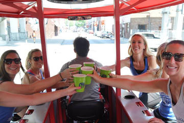 Book Party Bike Pub Crawl of Downtown Tucson on Viator