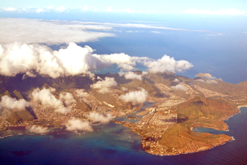 Tagesausflug von Maui nach Oahu im Privatflugzeug