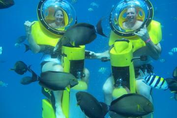 Aventure en scooter sous-marin à Oahu