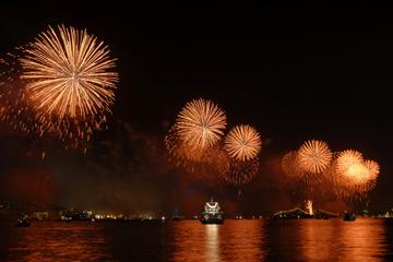 Cruzeiro turístico, show e jantar de véspera de Ano Novo em Bósforo...