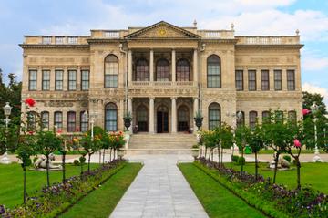 Excursão ao Palácio de Dolmabahçe em...