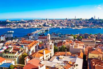 Istanbul-Stadtrundfahrt mit Sightseeing-Bootsfahrt auf der...