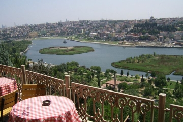 Nachmittagsfahrt entlang dem Bosporus...