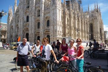 Excursão de bicicleta por Milão
