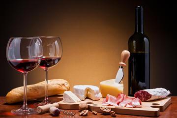 Gourmetmat och vinprovning i Rom