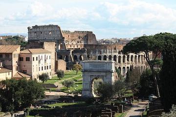 Slipp köa: Colosseums sevärdheter och guidad tur över Forum Romanum