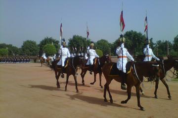 Ceremonia del cambio de guardia de Rashtrapati Bhavan y entrada al...