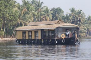Private Alleppey Backwater Houseboat Day Cruise including Lunch