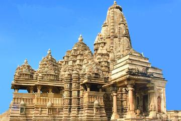 Private Khajuraho Tour from Delhi by Round Trip Overnight Train