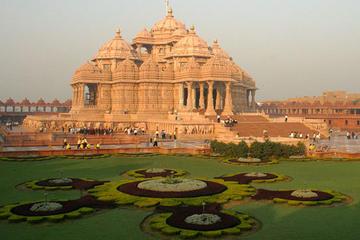 Visite privée: temple Akshardham et...