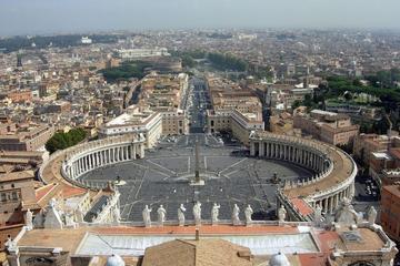 Audiencia papal con recogida en el hotel y charla sobre el papado...
