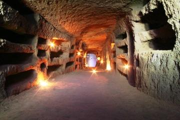 Excursão privada: catacumbas judias em Roma
