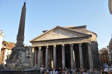 The Pantheon and the Crypt of Santa...