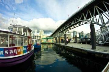 Ingresso para balsa AquaBus em Vancouver