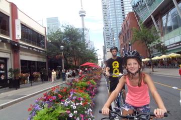 Excursão de bicicleta no centro Toronto