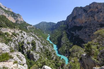 Excursion d'une journée dans les Gorges du Verdon et à Moustiers...