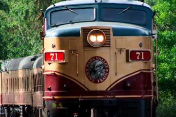 Napa Valley Wine Train fra San...