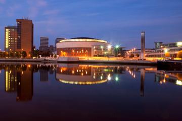 Croisière touristique à Belfast: quartier du Titanic et rivière Lagan