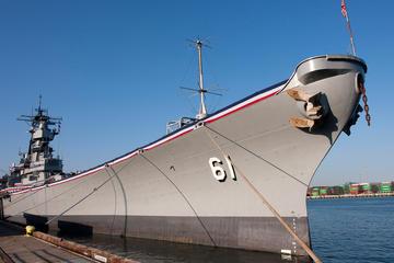 Entrada al museo del acorazado USS Iowa