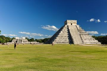 3-in-1 Maya Tour: Chichen Itza, Uxm