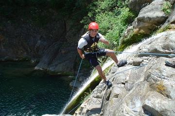 Aventura de canionismo no Parque Nacional Cumbres de Monterrey
