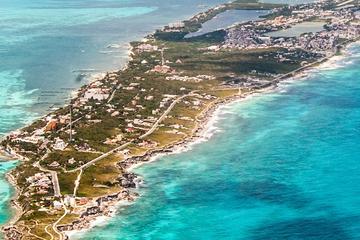 Cancun Scenic Flight at Sunset from Tulum